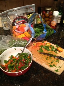 frittata_chopped veggies