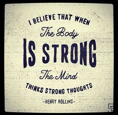 strength - mind and body