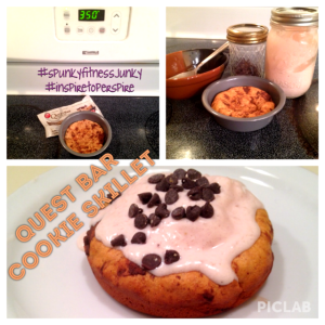 quest_chocolate chip cookie skillet