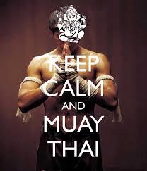 keep calm muay thai