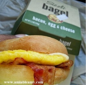 WAWA bacon, egg and cheese